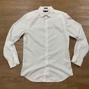 Banana Republic White Dress Shirt Size Medium